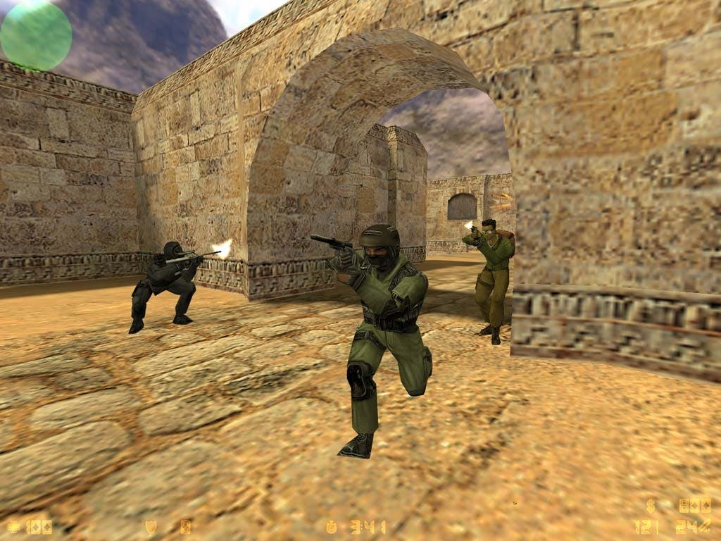 Screen z gry Counter-Strike 1.6